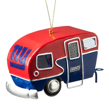 New York Giants Camper Ornament