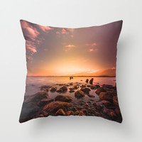 I dream of you Throw Pillow by HappyMelvin