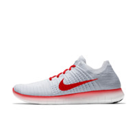 The Nike Free RN Flyknit iD Running Shoe.