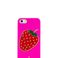 Kate Spade Embellished Berry Iphone 5 Case Vivid Snapdragon ONE