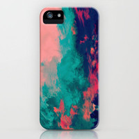 Painted Clouds IV iPhone Case by Caleb Troy | Society6