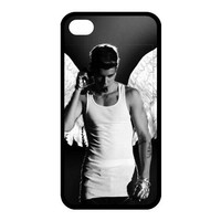 Justin Bieber Diy Iphone 4/4s hard Case,customized case AJ613562