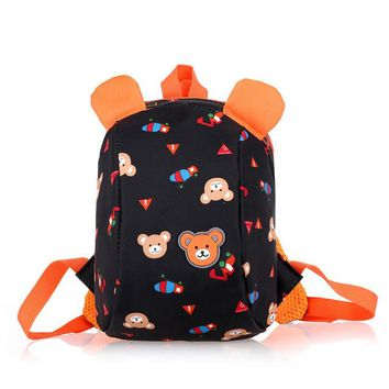 Boys Backpack Bag New Anti Lost Bag Bear Pattern School Bags Children Small  Aminals Kindergarten s Girls School Bag for Kids AT_61_4