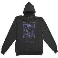 Arch Enemy  Time Is Black Girls Jr Hooded Sweatshirt Black