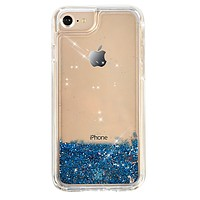 STARRY NIGHT GLITTER IPHONE CASE