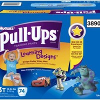 Huggies Pull-Ups Training Pants - Learning Designs - Boys - Giga Pack