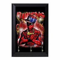 Spidey Queens Decorative Wall Plaque Key Holder Hanger
