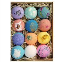 12 PK USA Moisturizing Spa Bath Bombs