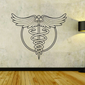 Medical Doctor Dr Logo Busniness Vinyl Decal Sticker Wall Boy Girl