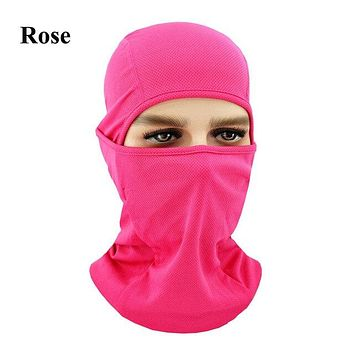 ROSE Winter Outdoor Ski Bibs Snowboard Skiing Full Face Mask Cycling Sport Headgear Tactical Paintball Cap Hat Snowbile Balaclava
