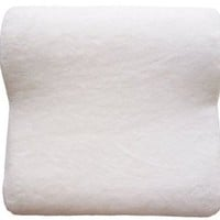 MICRODRY Memory Foam HD Countour Bath Pillow - White