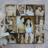 Personalized Mother of the Bride Gift, Mother's Day Picture Frame, Parents Thank You Gift, Unique Custom Wedding Collage Picture Frames