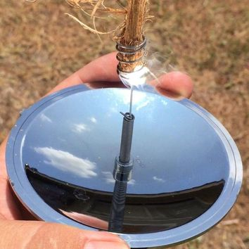 Outdoor Survival Solar Fire Starter Faint Lighter for gas stove Solar Lighters Flint Emergency Tool For Outdoor Camping Picnic