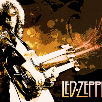 Led Zeppelin Classic Rock Poster