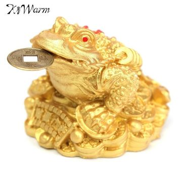 Mini Feng Shui Coin Lucky Chinese Frog