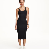 Ribbed Dress - from H&M