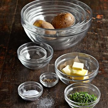 10-Piece Glass Bowl Set