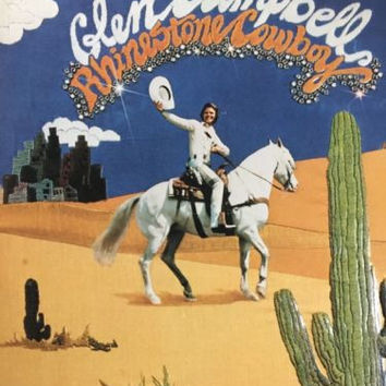 Glen Campbell - Rhinestone Cowboy [Vinyl LP Record] COLLECTIBLE VINTAGE RARE