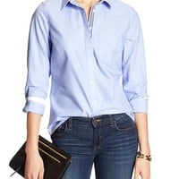 Banana Republic Womens Factory Soft Wash Oxford Shirt