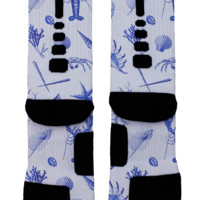 Beach Vibes Custom Nike Elites