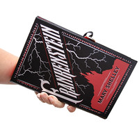 Luxury bags | Frankenstein Book Clutch - Similar to Chanel