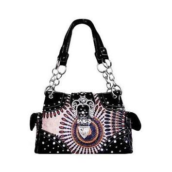 Women's Multicolored Fashion Handbag