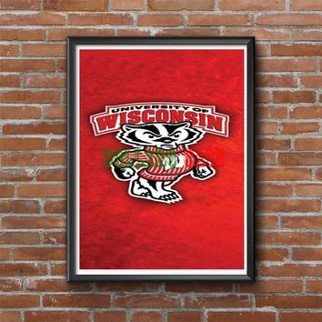 Wisconsin Badgers Photo Poster