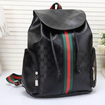 LMFON Tagre Gucci Women Leather Bookbag Shoulder Bag Handbag Backpack