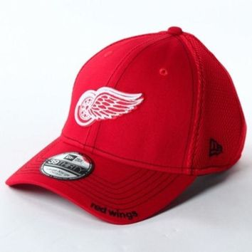 ONETOW NHL New Era Detroit Red Wings 39Thirty Neo Team Flex Hat