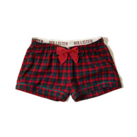 Flannel Sleep Shorts
