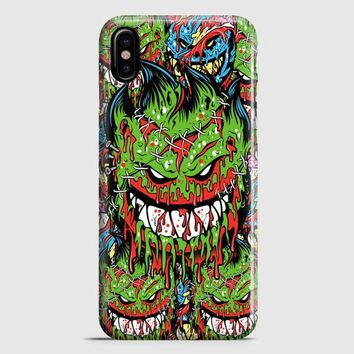 Spitfire Monster Skateboard Wheels iPhone X Case | casescraft