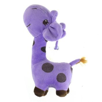 New Arrival Giraffe Toys for Children Stuffed Cute Animals Cartoon Plush Toy Dolls 38CM 28CM 18CM Children Gift