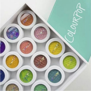 Makeup Colour Pop Eyeshadow Powder Durable Waterproof Cosmetic 20 Colors [8323047873]