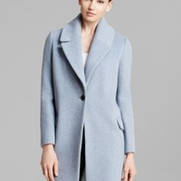 Elie Tahari Sicily Single-Button Coat | Bloomingdales's