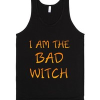 Bad Witch Best Friends Shirt-Unisex Black Tank
