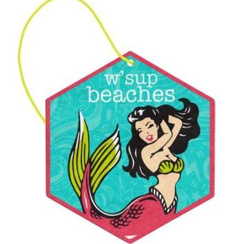W'Sup Beaches Air Freshener (2 Pack) in Coconut by Wit