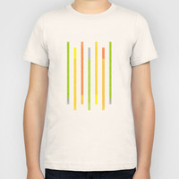 Lines Kids T-Shirt by littlestlee