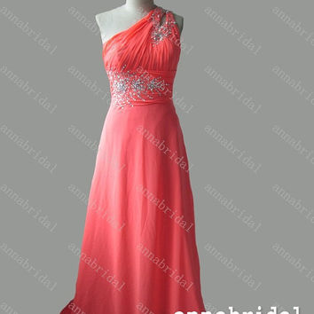 Spaghetti Straps Prom Dresses A Line Red From Annabridal On Etsy