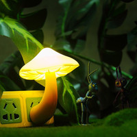 Mini Mushroom Wall Night Light