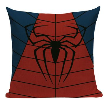 Spiderman Symbol Pillow SH4