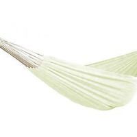 Patio Bliss Hammock in a Bag, Oversized - Canvas White