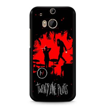 Twenty One Pilots Poster HTC M8 Case