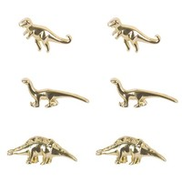 Unique Jewelry Alloy Cute 3 Pairs Of Dinosaur Vintage Inspired Stud Earrings Set