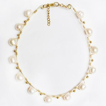 M.A.G. Montenegro Pearl Necklace