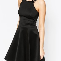 Ted Baker Jaimie Skater Dress with Buckle Straps