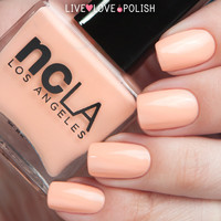 NCLA Don't Call Me Peachy Nail Polish (Life's a Beach Collection)
