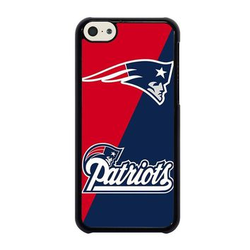 new england patriots iphone 5c case cover  number 1