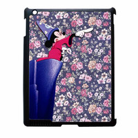 Mickey Mouse The Wizard Floral Vintage iPad 3 Case