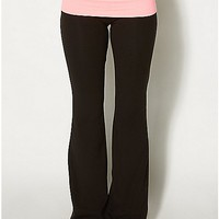 Bye Bitch Junior Fitted Yoga Pants - Spencer's