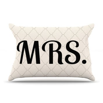 "KESS Original ""MRS"" Pillow Sham"